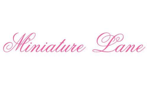 Minature Lane: Custom Hand-painted Miniature Dollhouse Furniture