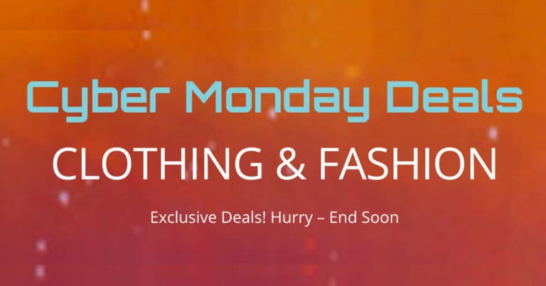 Cyber Monday Deals - Clothing & Fashion - LinkQueen.com