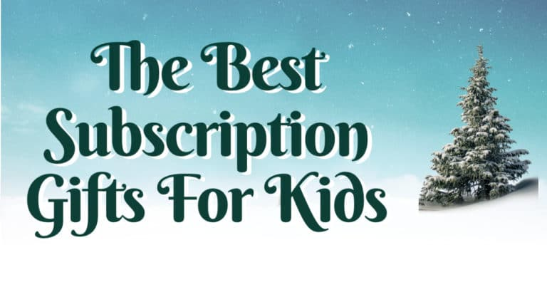 Best Subscription Gifts for Kids from LinkQueen.com