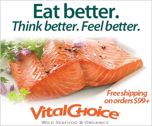 Vital Choice Seafood on LinkQueen.com - Food Delivery Companies