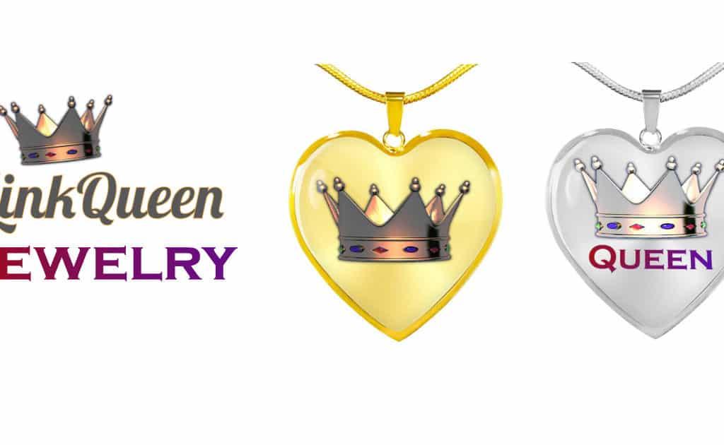 Link Queen Crown Necklace