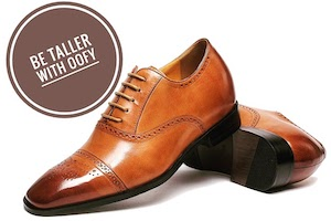 Oofy Shoes - Be Taller Shoe Stores
