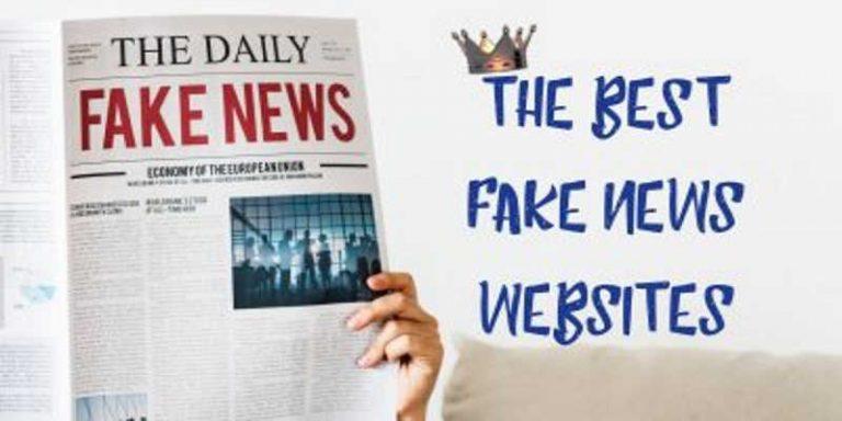 Fake News Websites on LinkQueen.com