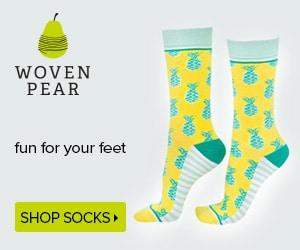Woven Pear: Socks