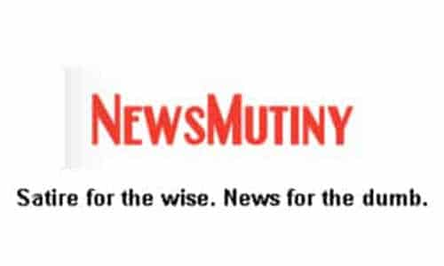 News Mutiny: Satire for the wise - News for the dumb